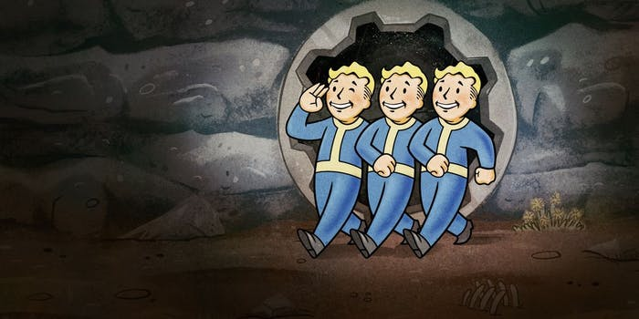 Fallout 76 will feature no human NPC interaction.