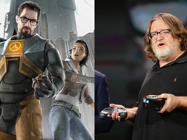 Gabe Newell is Working on Something New in 'Half-Life' Universe