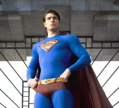 "Brandon Routh as Superman. ""Big"" or ""regular?"""