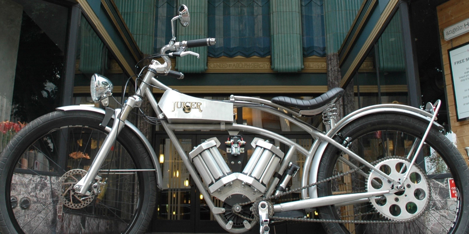 Juicer Makes Vintage Looking All Electric Motorcycles Inverse