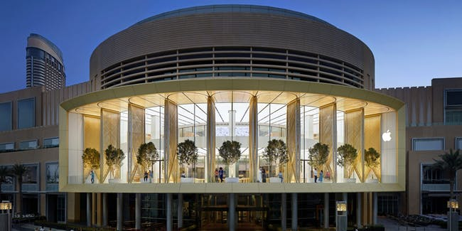 Stunning Pictures from the Apple's 495th Store