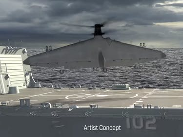 DARPA's New Tern Drone is Weird, Deadly Attack Helicopter-Plane
