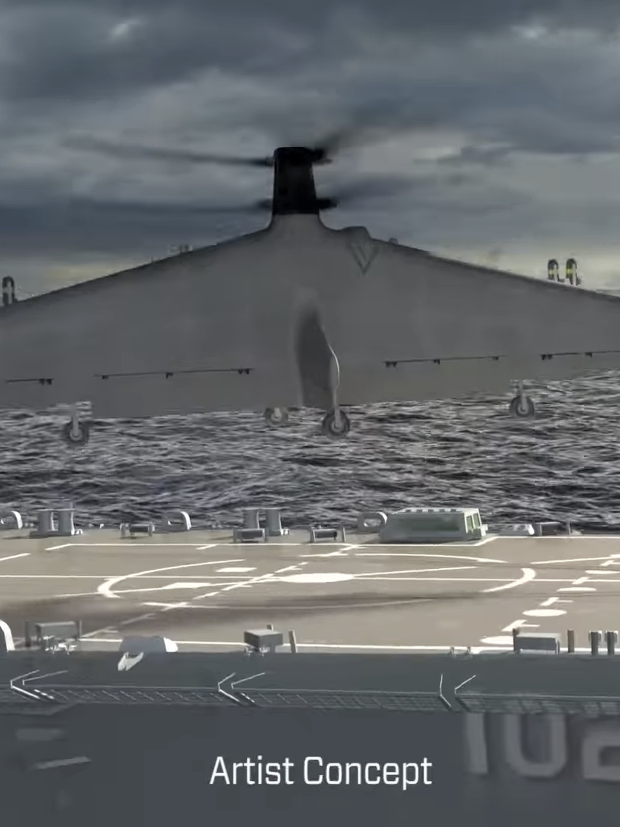 DARPA's New VTOL Drone is a Sea-Based Attack-Helicopter Thing