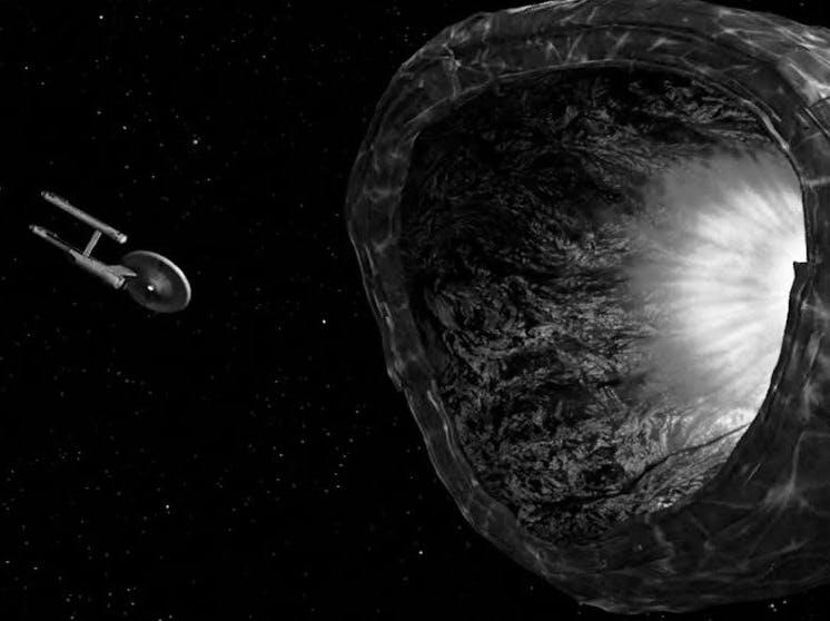 The Enterprise versus 'The Doomsday Machine'