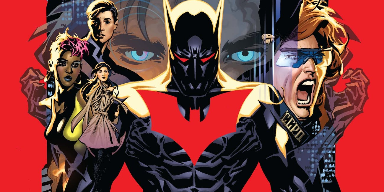 DC Rebirth Batman Beyond #1
