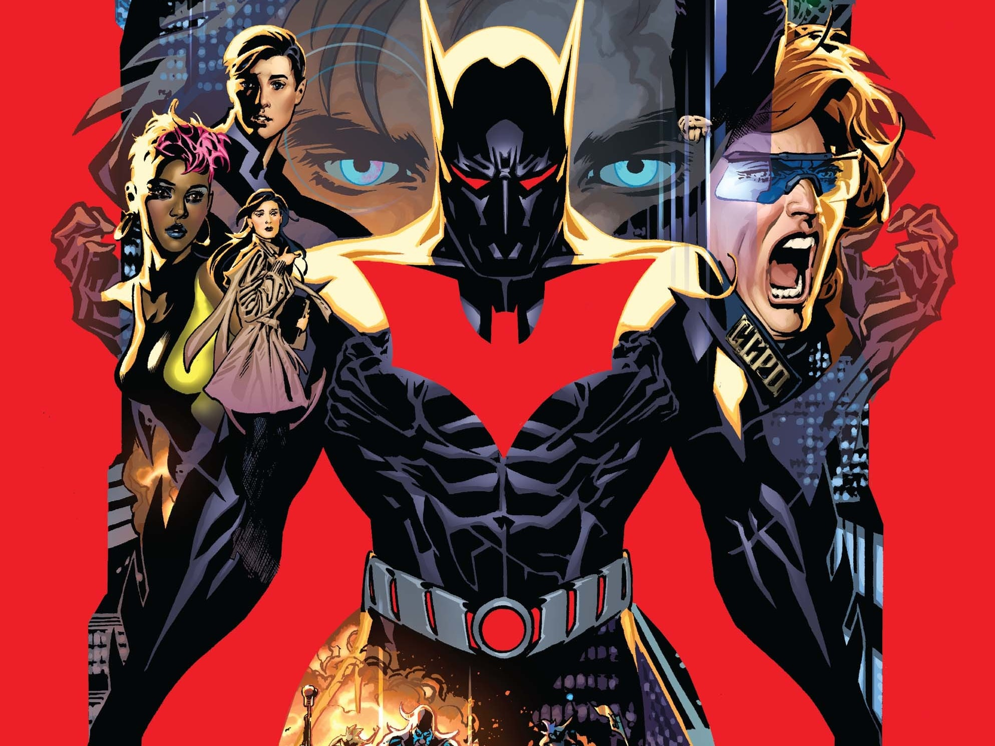 Terry Joins the Jokerz In 'Batman Beyond' Rebirth Comic