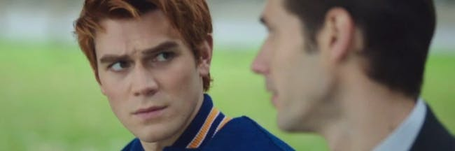 Archie Andrews and Agent Adams on 'Riverdale'