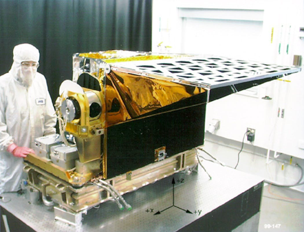 The Atmospheric Infrared Sounder (AIRS) instrument