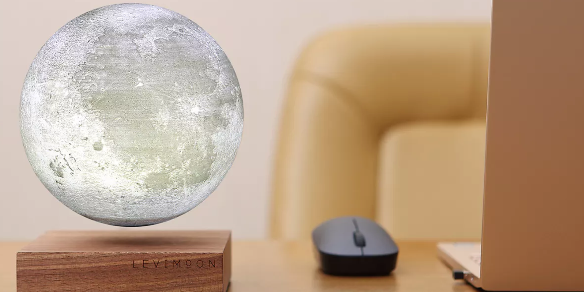 This Levitating Moon Lamp Is Completely Ridiculous and I Must Have It