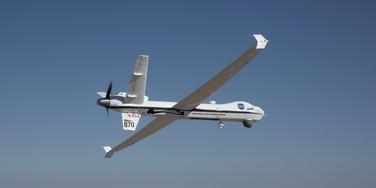 NASA unmanned aircraft takes to the sky