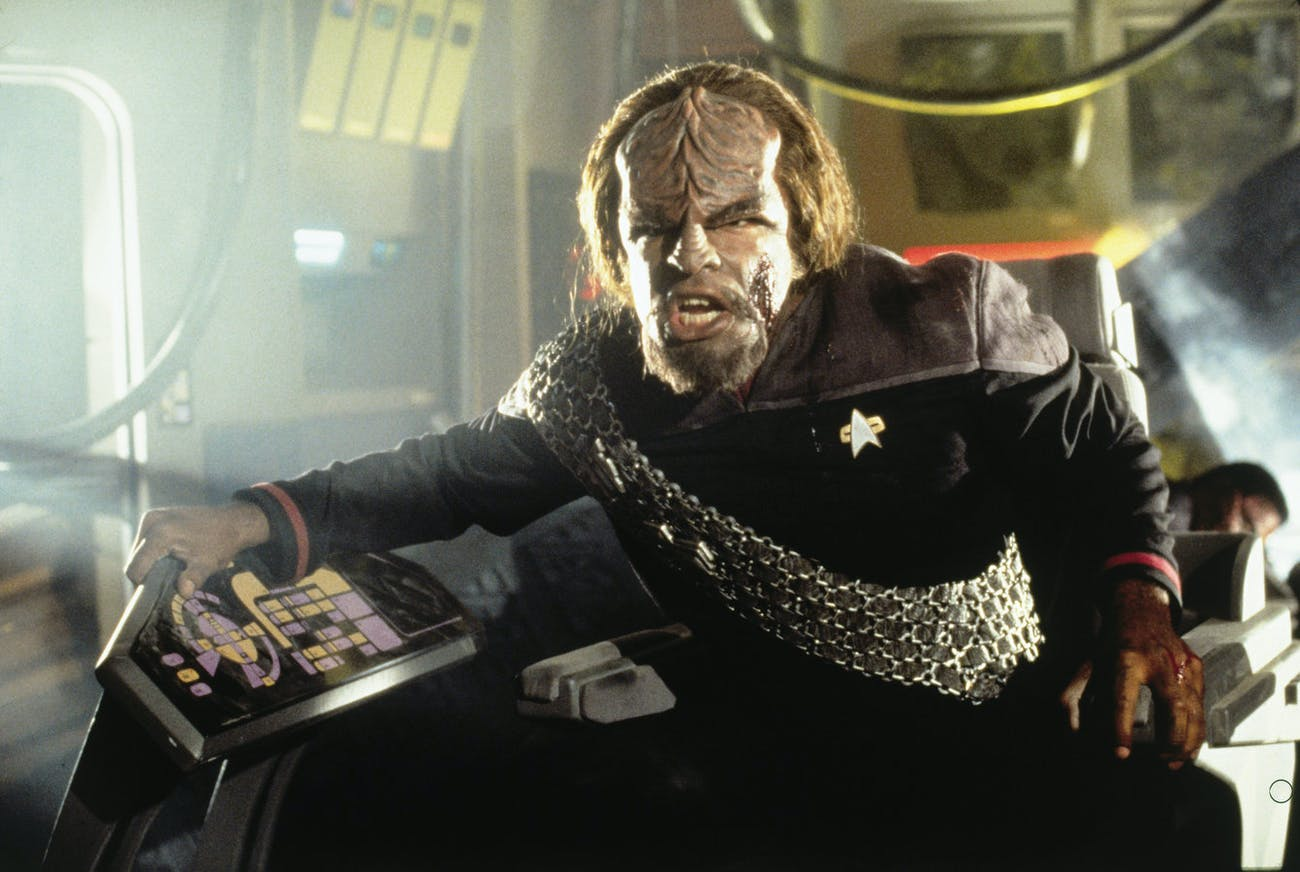 Worf, everyone's favorite Klingon