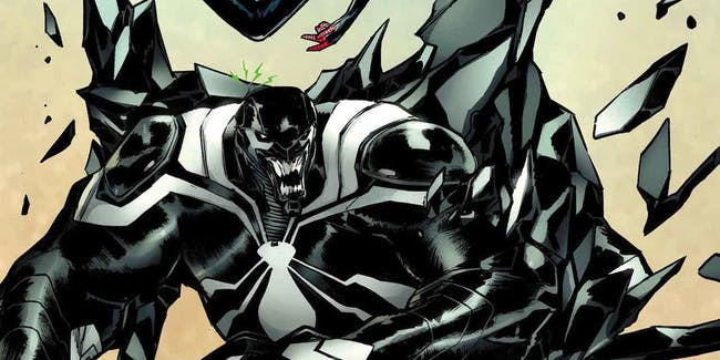Venom and Miles Morales in Spider-Man #9 Cover