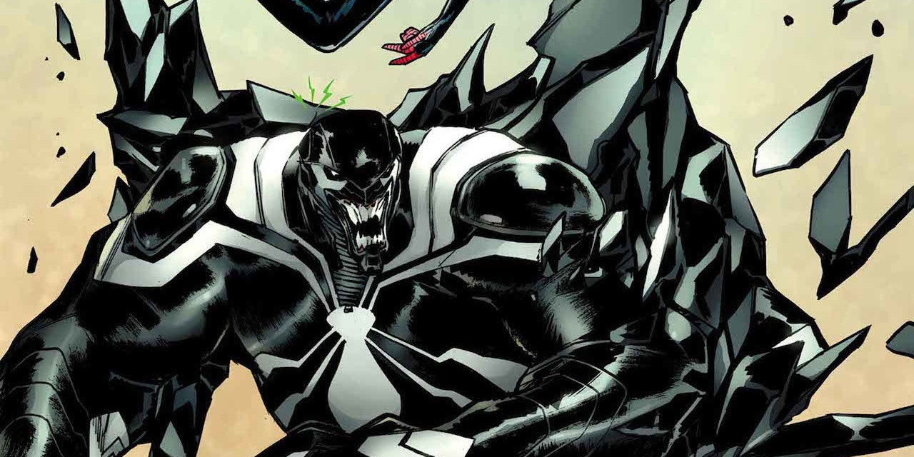 Venom and Miles Morales in Spider-Man #9 Cover
