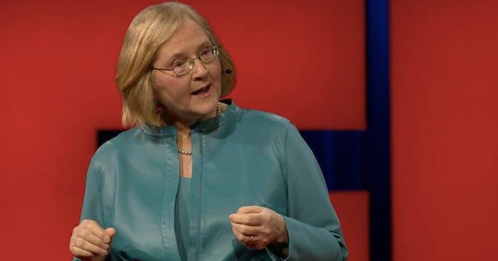 Nobel Prize winner Elizabeth Blackburn gave a TED Talk in Vancouver on Thursday.