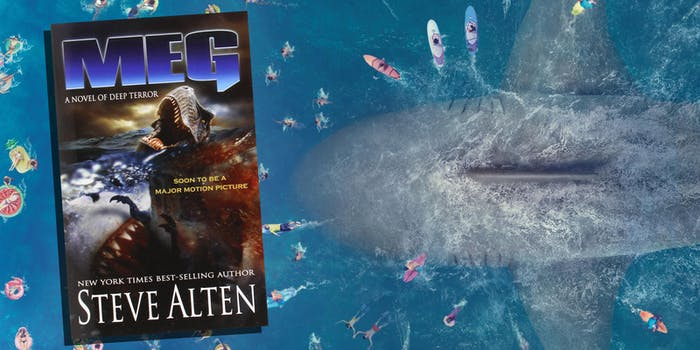 The Meg Movie Book Comparison