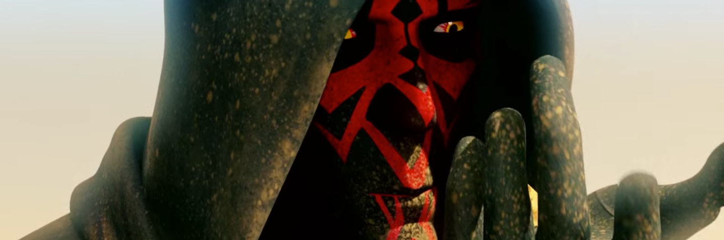 Darth Maul Darth Vader Intense Stare