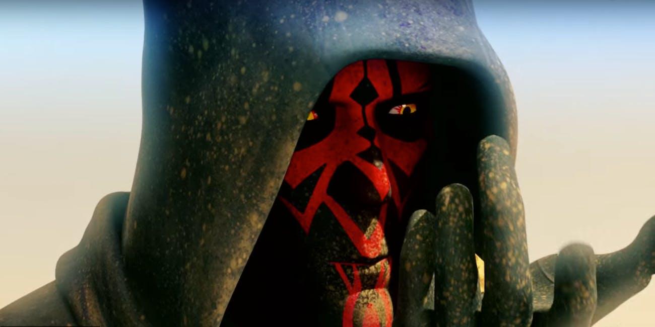 Darth Maul Darth Vader Intense Stare