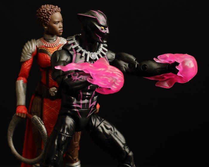 marvel black panther vibranium and nakia