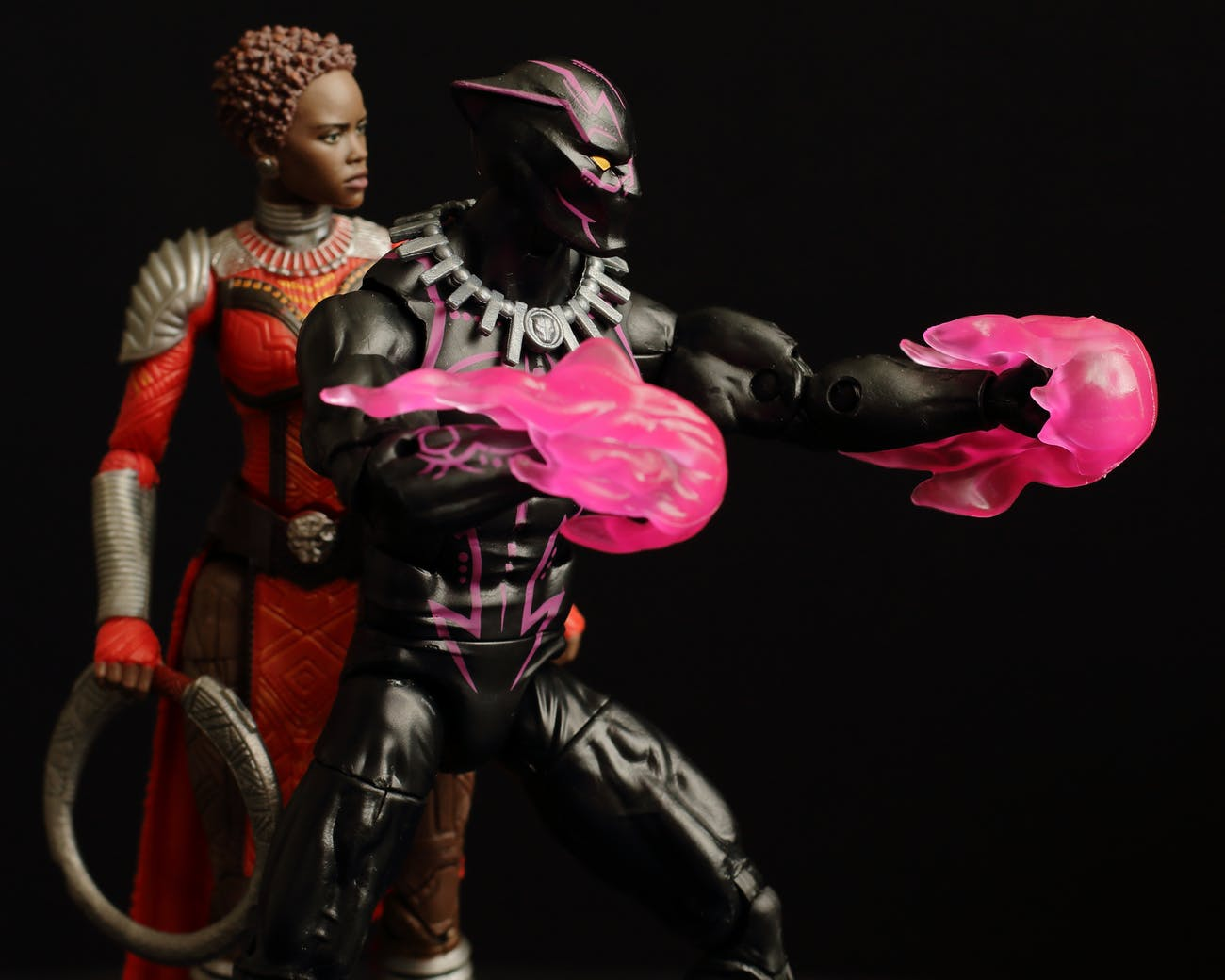 marvel black panther vibranium and nakia