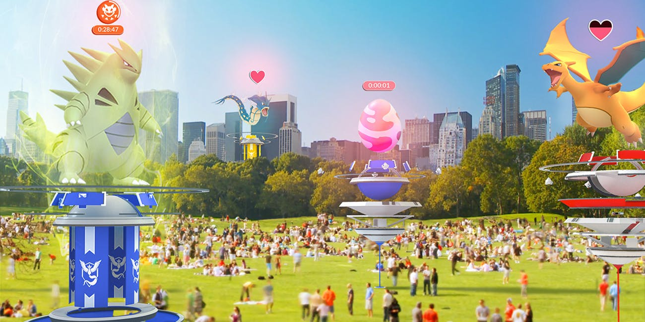 Raid-style battles are coming to 'Pokémon GO.'