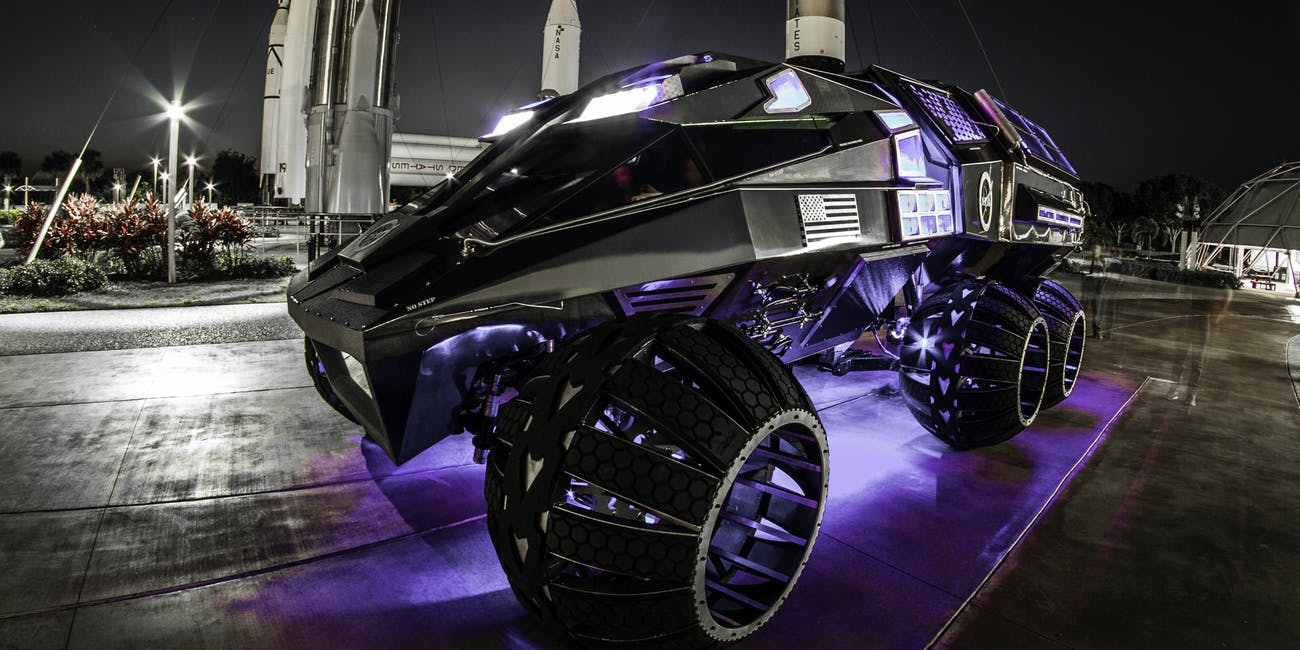 Nasa Concept Mars Rover Was Designed To Quot Intimidate Aliens