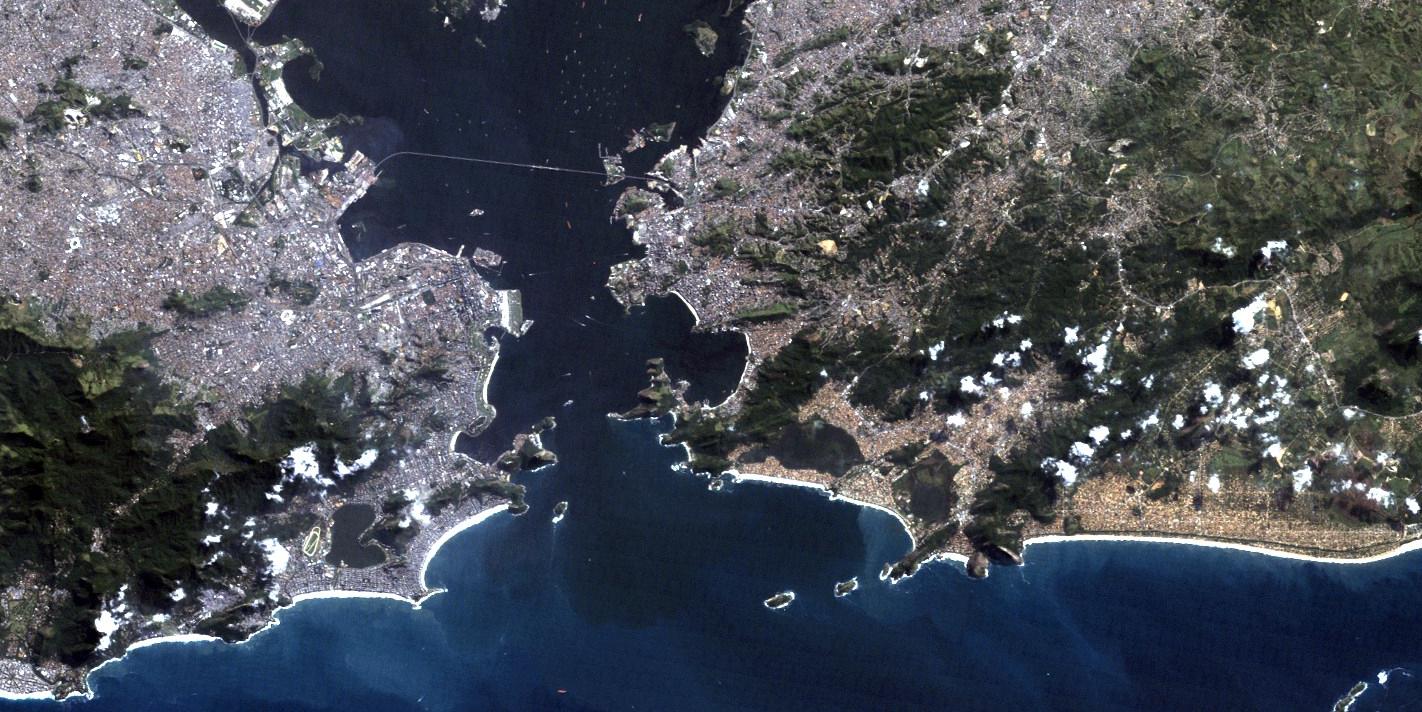 Rio de Janeiro from above.