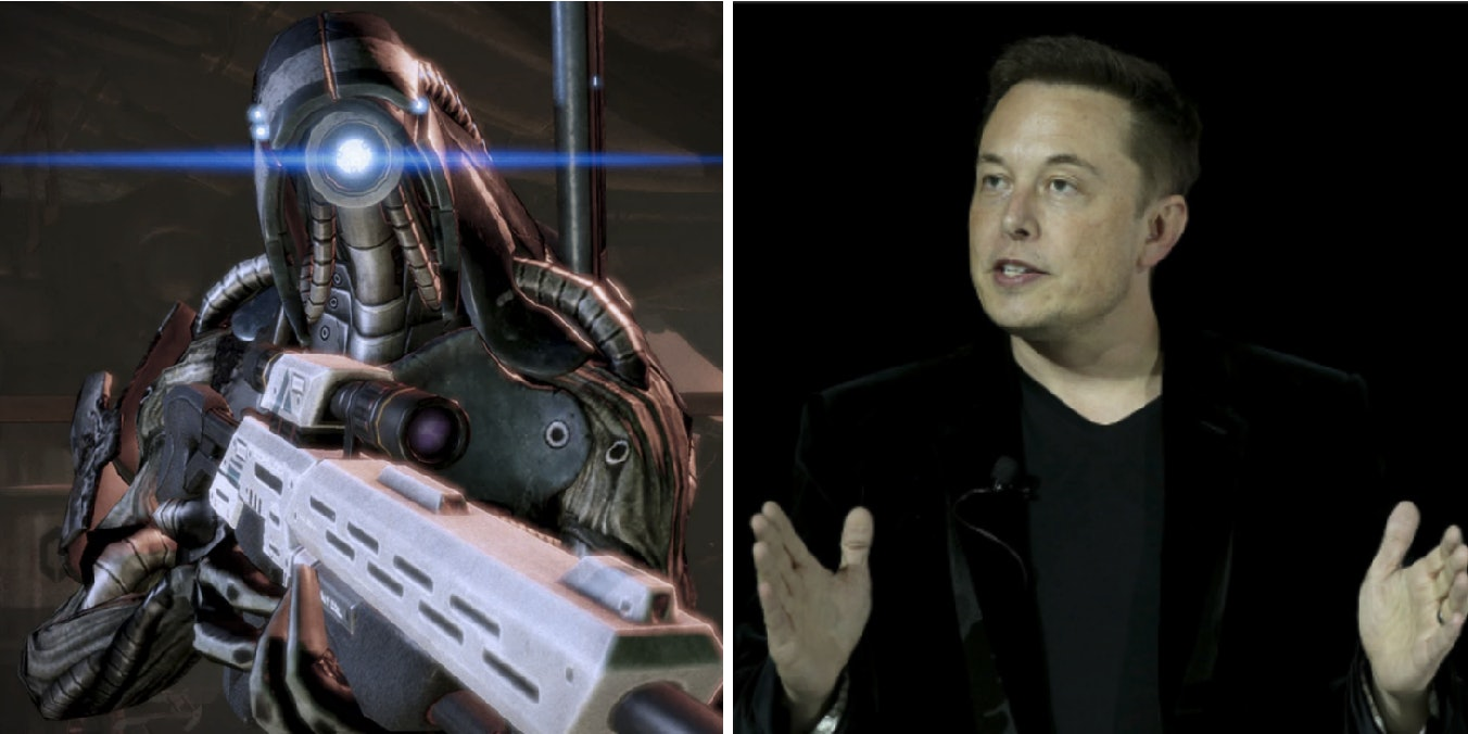 Mass Effect Andromeda Rips Off Elon Musk's Neural Lace Idea