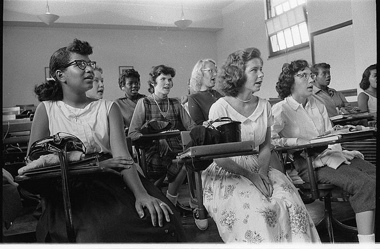 yearbook photos 1950s
