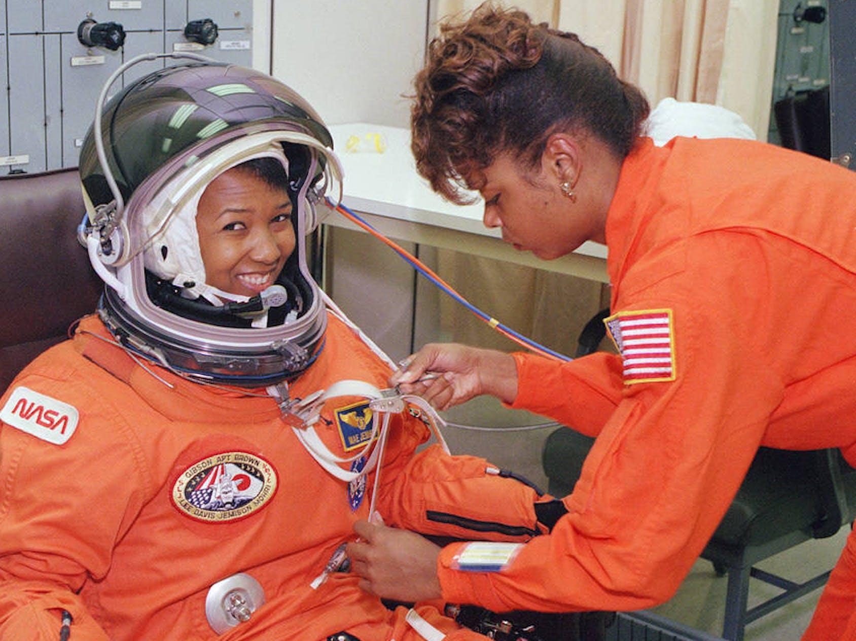 NASA astronaut Mae Jemison space