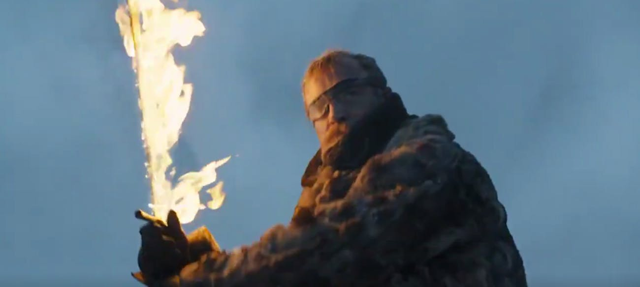 Beric Dondarrion in 'Game of Thrones' Season 7
