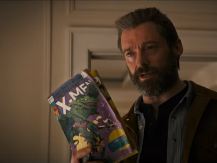 Laura Reads Troublesome X-Men Comics in 'Logan'