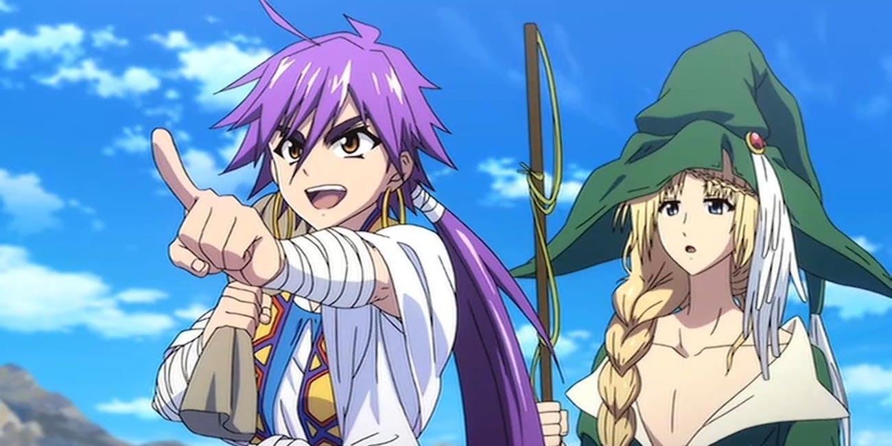 5 Reasons To Watch The Magi Adventure Of Sinbad Netflix Anime