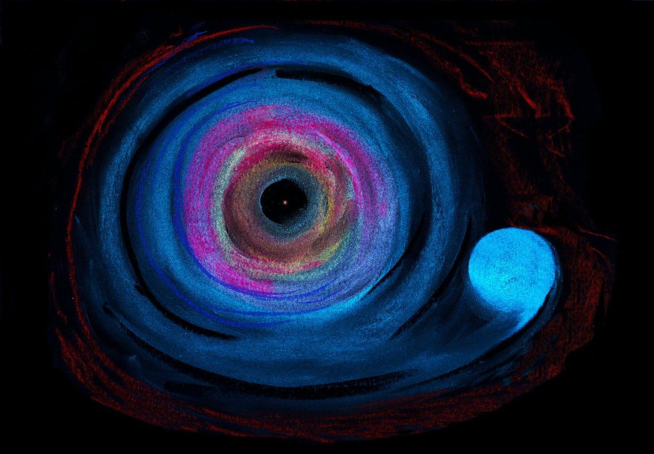 Black hole (SARA-MAIALETTI)