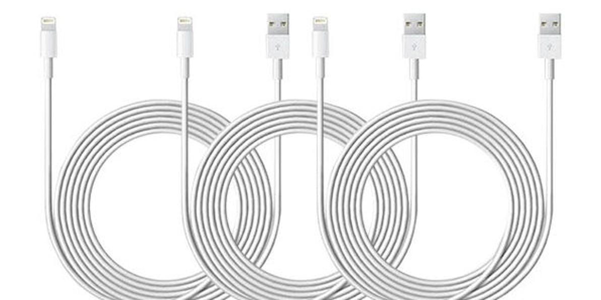 10ft lightning cables