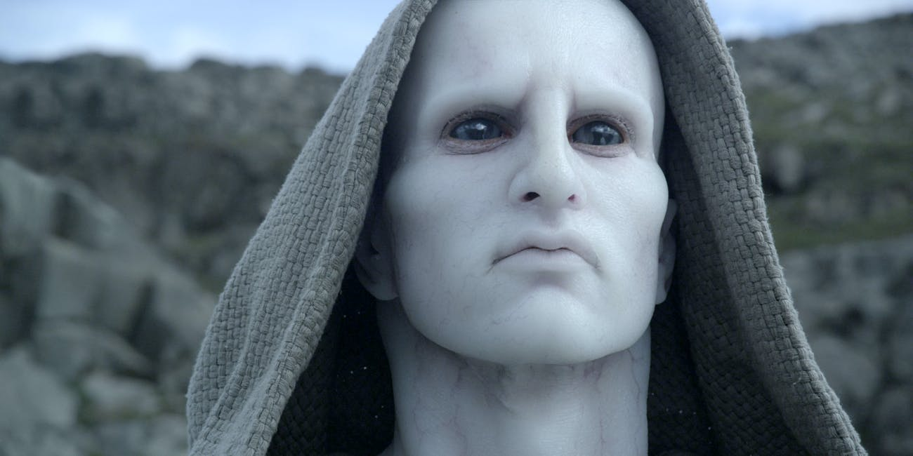 The first Engineer in 'Prometheus'