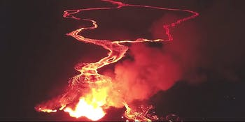 lava kilauea fissure 8