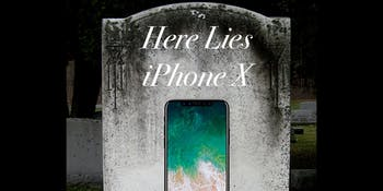 iphone x rip apple flop