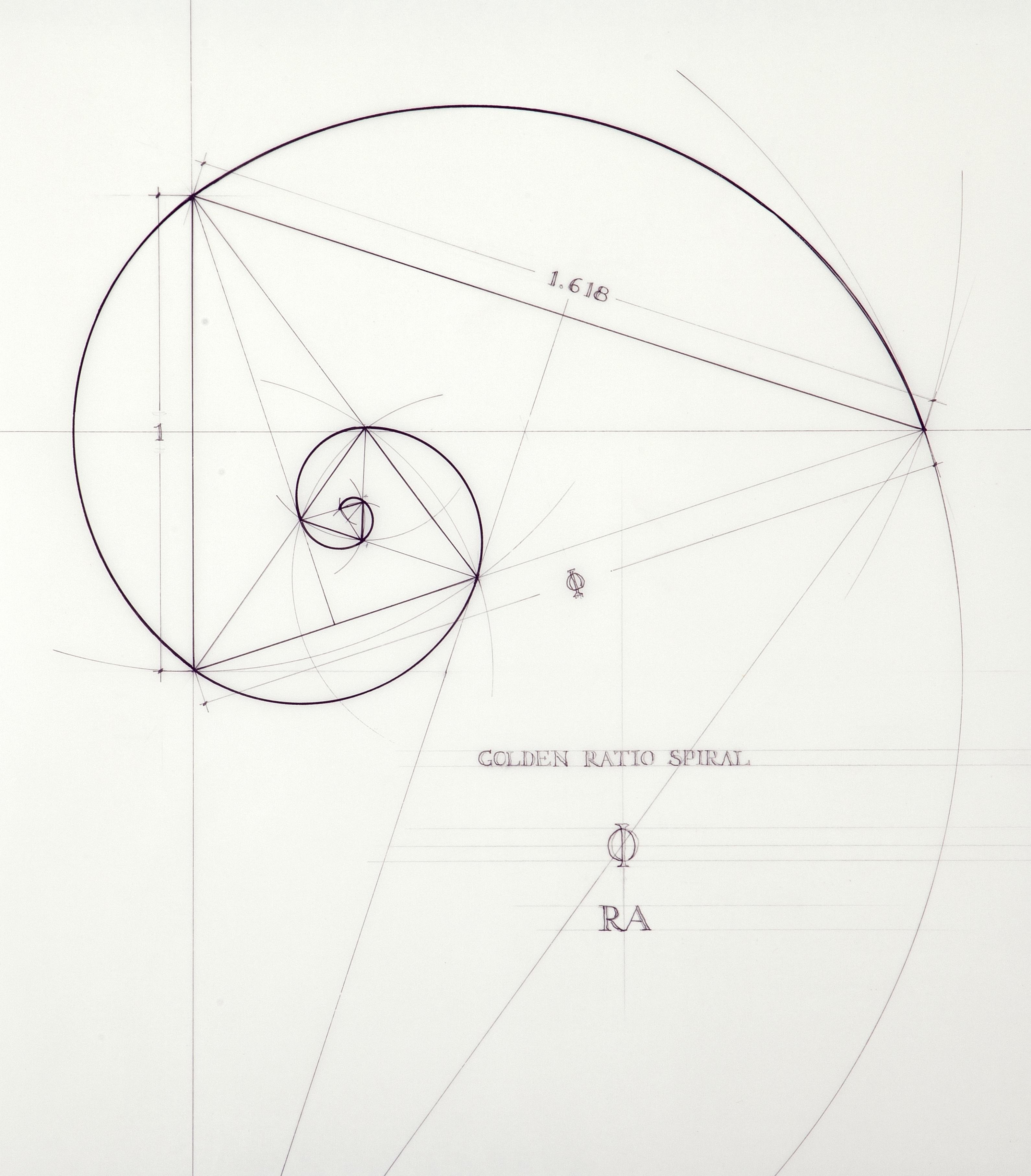 Rafael Araujo Draws Perfect Illustrations By Hand Using Math's Golden Ratio   Inverse