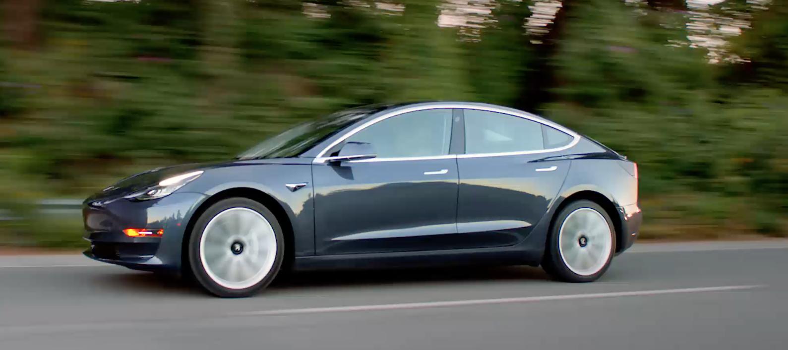 Tesla Model 3: Elon Musk Reveals New Extras, Next-Gen
