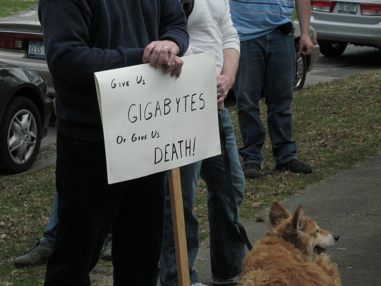 Time Warner Protest