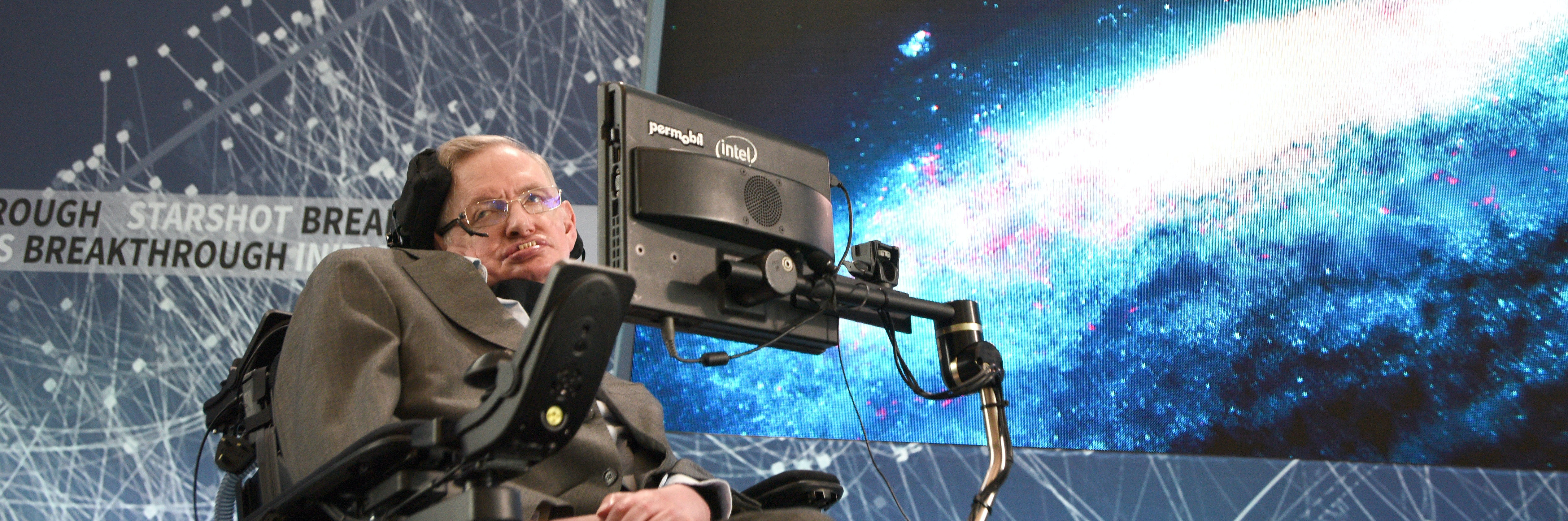 Stephen Hawking will go to space before you do.
