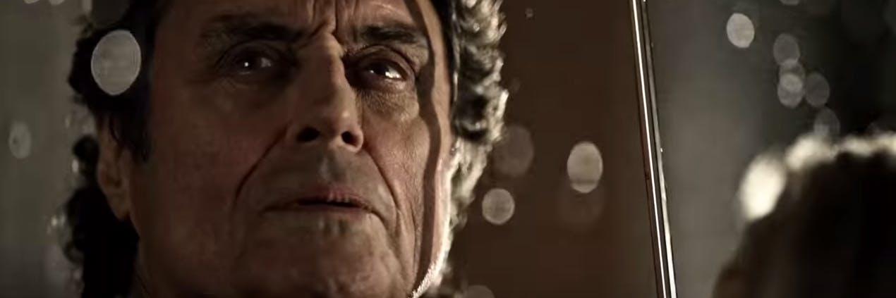 Ian McShane in Neil Gaiman's 'American Gods'