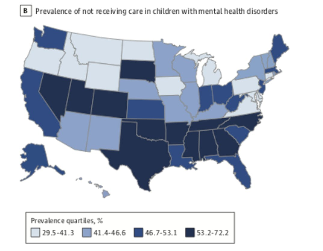 mental health maps states