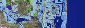 sea level rise projection map miami florida