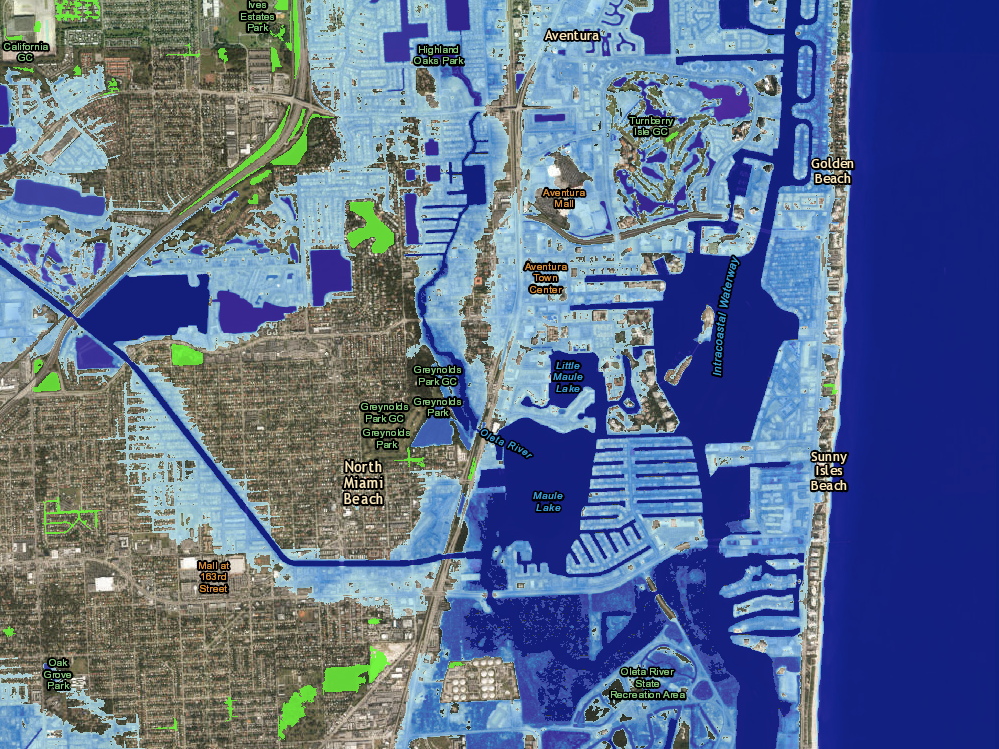 Many Trump Properties Could Be Underwater Due To Rising Sea Levels