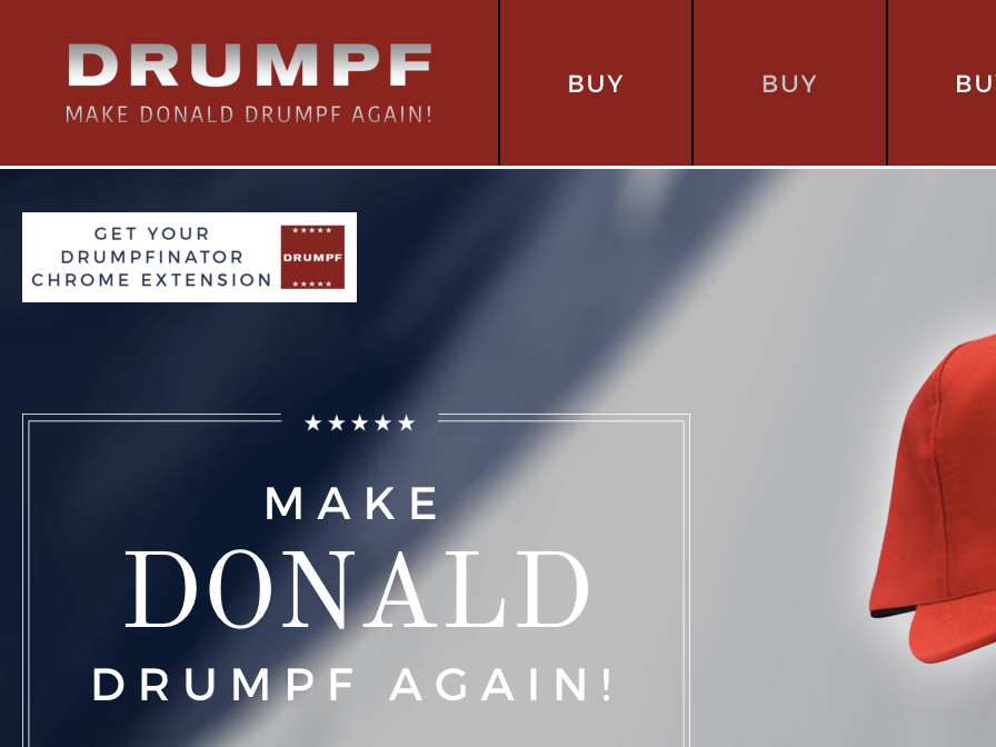 Love Donald Drumpf? These 5 Google Chrome Extensions Will Spice Up Your Browser