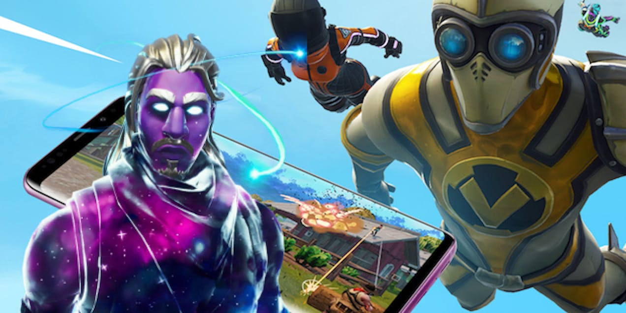 'Fortnite' Android Galaxy