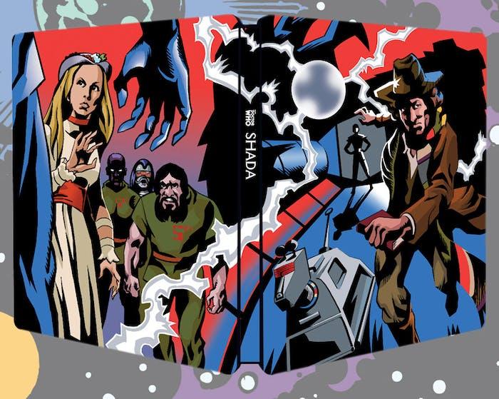 "The ""Shada"" Limited Edition Steelbook Blu-ray."