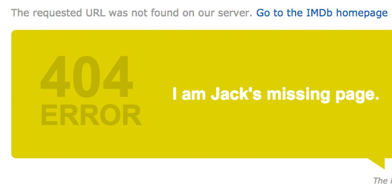 The 17 Best 404 Pages on the Internet