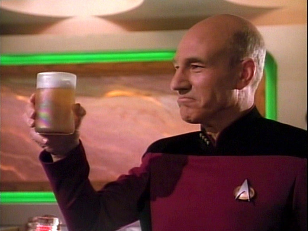 Captain Picard Knows Everybody at His Brooklyn Pharmacy